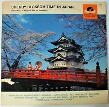 CHERRY BLOSSOM TIME IN JAPAN. RICHARD SANTOS AND HIS ORCHESTRA LP. UK DISPATCH.