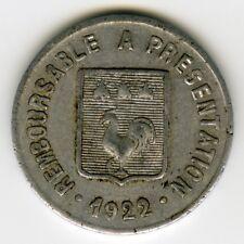 ► MONNAIE DE NECESSITE FRANCE 1922 ☆ MAZAMET ★ 5 CENT • E. ALQUIER FRERES ☆C2648