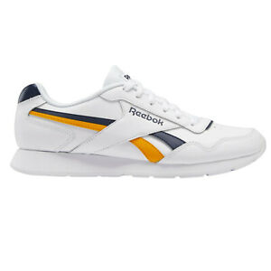Reebok Classics Royal Glide Mens Trainers in White and Gold