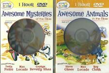 Kids Awesome Animals Mysteries in the Bible Stories DVD NEW