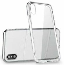 for Apple iPhone X Slim Clear Transparent Back Shockproof Hard Phone Case