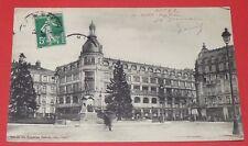 CPA CARTE POSTALE 1912 NANCY PLACE THIERS MAGASINS REUNIS 54 MEURTHE ET MOSELLE