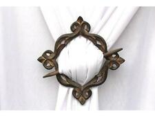 Wooden Curtain Tie backs Drapery Hold backs Rustic Set of 2 Home Decorative