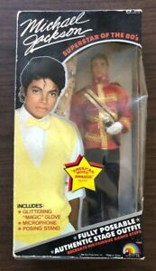 """Michael Jackson """"Superstars of the 80s"""" Doll (Factory Sealed) 1984"""