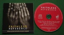 Faithless Reverence ft Exclusive Remixes inc Salva Mea + CD