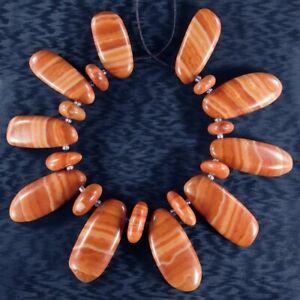 Red Malachite 7 Inch Bead Set FA102001