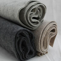100% Wool Felt Fabric - 1mm Thick - Natural Melange Colours - 90cm x 0.5 Metre