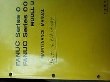 *FANUC MANUAL B-60125E Maintenance 0-TB, 0-TTB, 0-MB, 0-GB, 00-TB, 00-MB, 00-GB