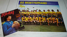 MIROIR RUGBY N°216 1979 AS MONTFERRAND LAFARGE GALLION ALVAREZ AIRE ADOUR COSTES