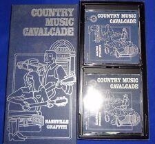 COUNTRY MUSIC CAVALCADE,  NASHVILLE GRAFFITI , 2 CD LIKE NEW