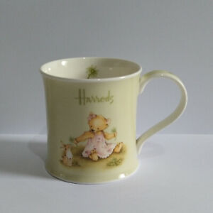 Harrods Mug - Fine Bone China Teddy Bear and Bunny Rabbit Mug - Please Read
