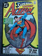 ACTION COMICS WEEKLY 643 SUPERMAN DC COMICS 1989
