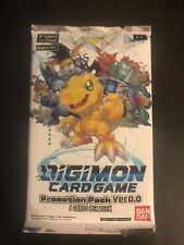 Digimon Card Game Promotion Pack Ver. 0.0 - ENGLISH - SEALED - 6 Cards - Bandai