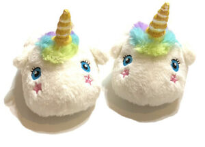 Cat & Jack toddler baby Raylee Unicorn slippers size 7/8