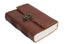 Indien Klassik Lederbuch Tagebuch Handarbeit Notizbuch für unterwegs klein retro