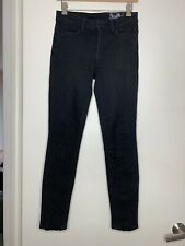 Siwy Black Embroidered Denim Jeans Size 26