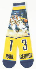 Stance Mens NBA Indian Pacers Crew Socks Yellow L New