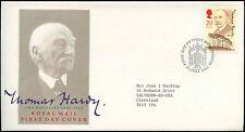 GB FDC 1990 Thomas Hardy, Dorchester H / S #C 25808