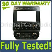 """2015 - 2017 OEM Ford F150  8"""" Touch Screen Radio Climate Control Faceplate Bezel"""