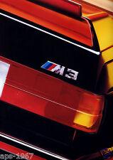 BMW E30 M3 1989 DTM BMW M-Motorsport Arte Cartel Promo Grandes