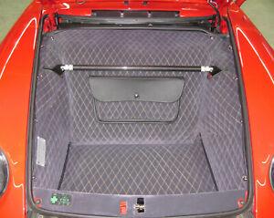 Kofferraumverkleidung für Porsche 993 - 3 lagig, gesteppt - Handgefertigt