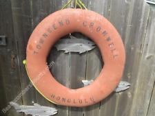 Antique 30 inch 1967 Life Ring Preserver -(Xlr73)