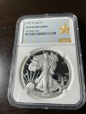 2020 w American Silver Eagle proof - NGC PF 69 Ultra Cameo