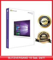 Microsoft Windows 10 Professional ✔ PRO VOLLVERSION ✔ MS® Windows ✔ 32 & 64BIT✔