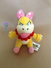 Super Mario Plush Teddy - wendy koopa Soft Toy - Size 20cm - NEW