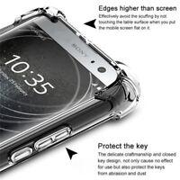For Sony Xperia XZ3 XZ2 XZ1 XA2 Shockproof Clear Slim Soft TPU Back Case Cover