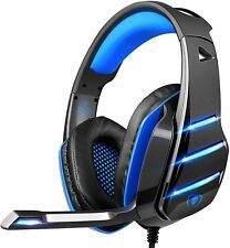 PS4 Gaming Headset with Mic Deep Bass Stereo Sound Over Ear Headphone