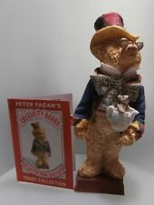 COLOUR BOX  CELEBRITY BEAR MAD HATTER  FROM JEAN SLATER   TCC006   MINT IN BOX