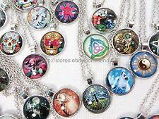 US Seller -$0.80/each, 50 necklaces wholesale jewelry bulk lot vintage hippie