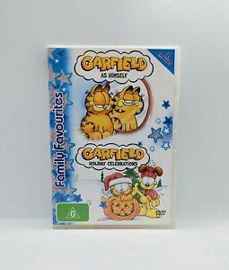 GARFIELD AS HIMSELF / GARFIELD HOLIDAY CELEBRATIONS Genuine Region 4 DVD 2-Disc