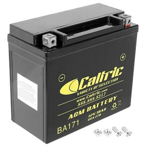 AGM Battery for Harley Davidson Xlh883 Sportster 883 Hugger Custom 1997-2003