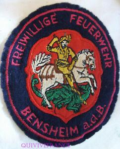 IN10196 - Parche Insignia Equipo Bomberos Voluntarios Bensheim