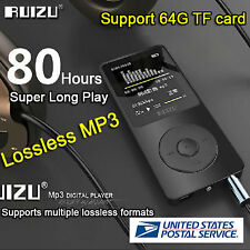 "1.8""Tft Screen Ruizu X02 HiFi 4G Mp3 Mp4 Player Fm Recorder Us Stock Fast Usps U"