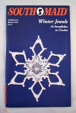 Winter Jewels - Southmaid 1410 - 16 Snowflake Patterns to Crochet