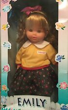 "Jesmar 18"" Vinyl  With Cloth Body Doll Emily"