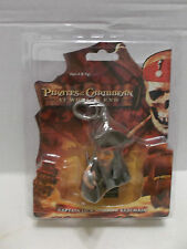 Pirates Of The Caribbean Captain Jack Sparrow Key Chain At World's End MOC 2007!