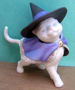 LENOX MOONLIGHT MINX CAT sculpture NEW in BOX  Halloween Kitty Witch Kitten