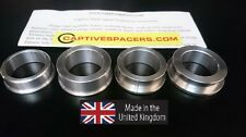 CBR900RR FIREBLADE 2000 - 2001 Captive wheel Spacers. Full set.