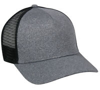Justin Bieber Trucker Hat Black Grey Snap Back Style New Blank Cap Mesh Back