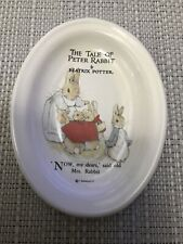 More details for frederick warne & co the tale of peter rabbit trinket dish - tray - soap dish