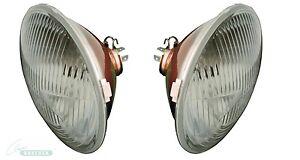 H4-Scheinwerfersatz (Paar) ohne Standlicht, inkl. Birnen