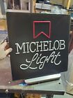 Michelob Light Plastic Lighted Square Sign