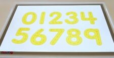 Tickit Silishapes Trace Numéro Jaune Formes À Compter Mathématique Éducatif