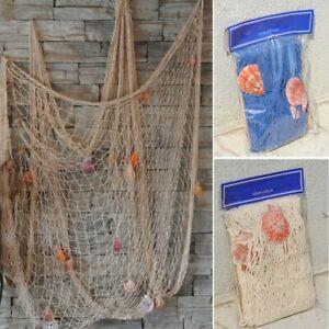 Fish Net Decor Nautical Seaside Beach Theme Sea Ocean Home Wall Party Decor AU