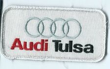 Audi Tulsa dealer employee patch 2 X 4 Tulsa OK