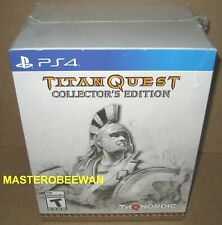 Titan Quest: Collector's Edition (Sony PlayStation 4, 2018) PS4 New Sealed